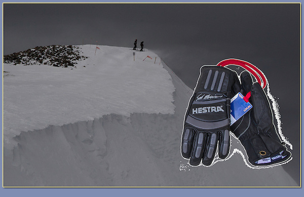 Ski gloves and backcountry. All photography and design by John Kieffer.