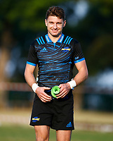 Beauden Barrett of the Hurricanes during the Hurricanes training session at  Northwood High School Durban North in Durban, South Africa on Tuesday, 28 May 2019. Photo: Steve Haag / stevehaagsports.com