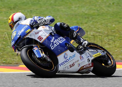 06 06 2010 Alex Debon ESP FTR. Moto2 class, 600cc spec Honda eninges in prototype chassis. Gran Premio d'Italia TIM, Mugello circuit, Italy.