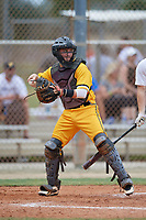Coleman Rowan (59) during the WWBA World Championship at the Roger Dean Complex on October 12, 2019 in Jupiter, Florida.  Coleman Rowan attends A. Crawford Mosley High School in Panama City, FL and is Uncommitted.  (Mike Janes/Four Seam Images)