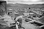 Potosi, Bolivia. Building a refinery.