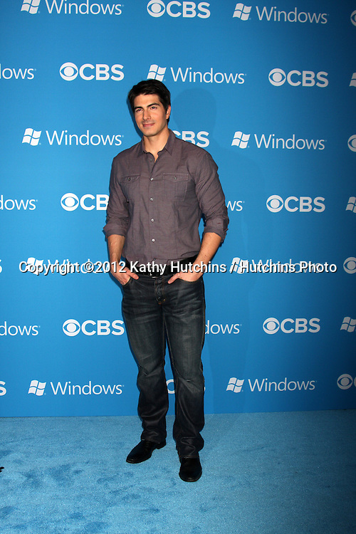 LOS ANGELES - SEP 15:  Brandon Routh arrives at the CBS 2012 Fall Premiere Party  at Greystone Manor on September 15, 2012 in Los Angeles, CA