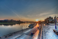 Sunrise over Dresden