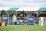 Stamford, Lincolnshire, United Kingdom, 8th September 2019, Elisabeth Halliday-Sharp (USA) & Deniro Z during the Show Jumping Phase on Day 4 of the 2019 Land Rover Burghley Horse Trials, Credit: Jonathan Clarke/JPC Images