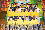 MEADLS: The Kingdom Boys U10's team at the their awards day at the Brandon Hotel on Saturday.