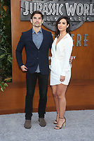 LOS ANGELES, CA - JUNE 12: Jared Haibon, Ashley Iaconetti, at Jurassic World: Fallen Kingdom Premiere at Walt Disney Concert Hall, Los Angeles Music Center in Los Angeles, California on June 12, 2018. <br /> CAP/MPIFS<br /> &copy;MPIFS/Capital Pictures