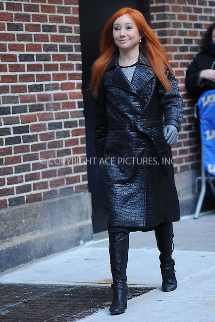 WWW.ACEPIXS.COM . . . . . ....December 10 2009, New York City....Singer Tori Amos made an appearance at 'The Late Show with David Letterman' on December 10 2009 in New York City....Please byline: KRISTIN CALLAHAN - ACEPIXS.COM.. . . . . . ..Ace Pictures, Inc:  ..tel: (212) 243 8787 or (646) 769 0430..e-mail: info@acepixs.com..web: http://www.acepixs.com