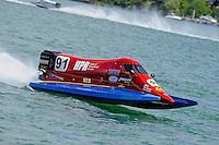 26  July, 2009, Trenton, Michigan USA.Bobby Chaffin (#91).©2009 F.Peirce Williams USA.SST-120 class