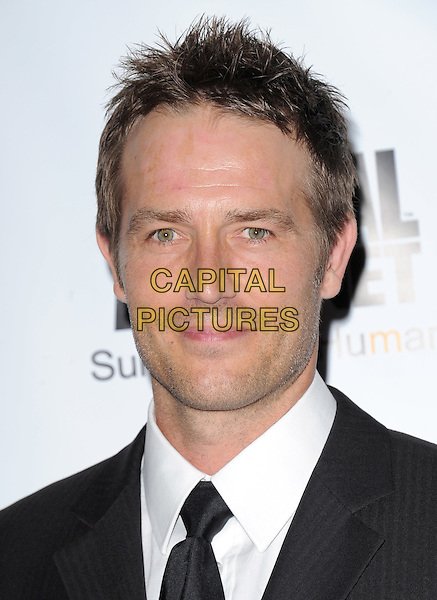 MICHAEL VARTAN .at The Humane Society of The United States celebration of The 25th Anniversary Genesis Awards in Beverly Hills, California, USA, .March 19th 2011..portrait headshot tie white shirt  black                                                               .CAP/RKE/DVS.©DVS/RockinExposures/Capital Pictures.