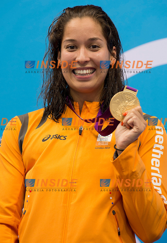 KROMOWIDJOJO Ranomi Nederland (gold medal).women 100 freestyle.swimming finals.London 2012 Olympics - Olimpiadi Londra 2012.day 07 Aug.2.Photo G.Scala/Deepbluemedia.eu/Insidefoto
