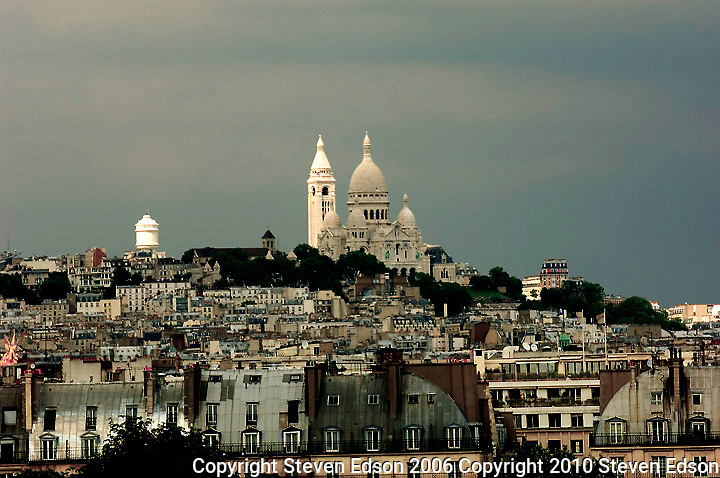 Montmartre and the Basilica of Sacre Coeur