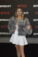 www.acepixs.com<br /> <br /> December 15 2017, London<br /> <br /> Georgia Harrison arriving at the European premiere of  'Bright' on December 15, 2017 at the BFI Southbank, in London.<br /> <br /> By Line: Famous/ACE Pictures<br /> <br /> <br /> ACE Pictures Inc<br /> Tel: 6467670430<br /> Email: info@acepixs.com<br /> www.acepixs.com