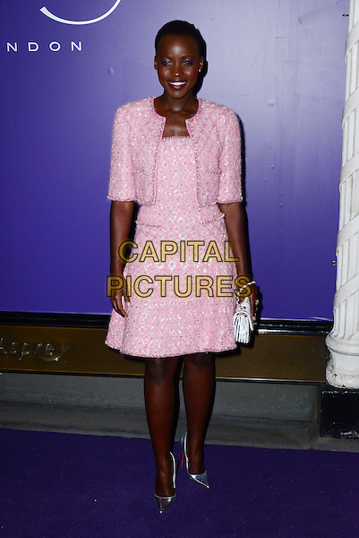 LONDON, ENGLAND - FEBRUARY 15: Lupita Nyong'o attends EE British Academy Film Awards (BAFTAs) nominees party at Asprey London, 167 New Bond Street, on February 15, 2014, in London, England.  <br /> CAP/JOR<br /> &copy;Nils Jorgensen/Capital Pictures
