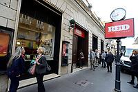 Roma, 18 Ottobre 2017<br /> La Casa Editrice Feltrinelli inaugura a Roma RED - Read Eat Dream, il Bistrot con libreria, ristorante, cinema e eventi