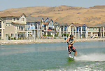 Wakeboarders perform at the sparks marina during  the Mastercraft college Pro Wakeboard tour finals to be held Friday through Sunday at the Sparks Marina.