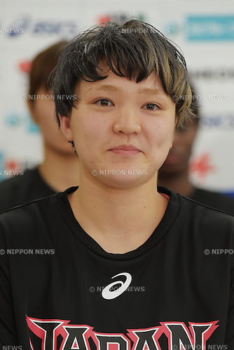 Asami Yoshida (JPN),<br /> June 10, 2015 - Basketball : <br /> Japan women's national team training session for 2015 FIBA Asia Championship for Women<br /> at Ajinomoto National Training Center, Tokyo, Japan. <br /> (Photo by Shingo Ito/AFLO SPORT)