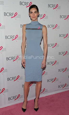 New York, NY- October 9: Hilary Rhoda attends the 2014 Breast Cancer Research Foundation awards luncheon honoring Barbara Walters  at the Waldorf-Astoria on October 9, 2014 in New York City. Credit: John Palmer/MediaPunch