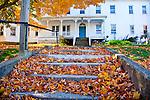 Autumn in Wiscasset, ME, USA