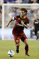 Kyle Beckerman Real Salt Lake in action... Sporting Kansas City defeated Real Salt Lake 2-0 at LIVESTRONG Sporting Park, Kansas City, Kansas.