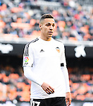 Valencia's  Rodrigo  during Spanish King's Cup match. January 6, 2016. (ALTERPHOTOS/Javier Comos)