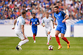 June 13th 2017, Stade de France, Paris, France; International football friendly, France versus England;  OLIVIER GIROUD (fra) is challenged by Evans of England