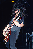 Guns N' Roses - guitarist Slash Performing lve at the Felt Forum New York USA - May 9,1988.