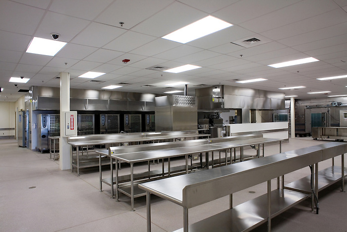 26 September 2007: Walla Walla State Prison_HDR.Bldg. H Kitchen
