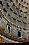 Coffered Concrete Dome detail  Pantheon Campus Martius Rome