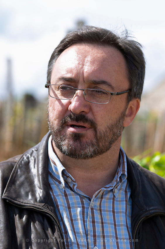 pierre blois of chateau moulin du cadet owner ch moulin du cadet saint emilion bordeaux france