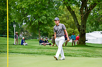 Emiliano Grillo (ARG) looks over his putt on 10 during Saturday's round 3 of the World Golf Championships - Bridgestone Invitational, at the Firestone Country Club, Akron, Ohio. 8/5/2017.<br /> Picture: Golffile | Ken Murray<br /> <br /> <br /> All photo usage must carry mandatory copyright credit (&copy; Golffile | Ken Murray)