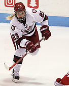 Val Turgeon (Harvard - 23) - The Harvard University Crimson tied the Boston University Terriers 6-6 on Monday, February 7, 2017, in the Beanpot consolation game at Matthews Arena in Boston, Massachusetts.