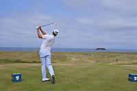 Marc Warren (SCO) on the 14th during Round 3 of the Dubai Duty Free Irish Open at Ballyliffin Golf Club, Donegal on Saturday 7th July 2018.<br /> Picture:  Thos Caffrey / Golffile