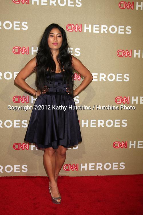 LOS ANGELES - DEC 2:  Chloe Flower arrives to the 2012 CNN Heroes Awards at Shrine Auditorium on December 2, 2012 in Los Angeles, CA