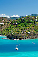Maho Bay from the overlook<br /> Virgin Islands National Park<br /> St. John<br /> U.S. Virgin Islands