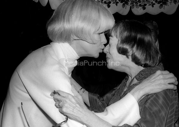 Carol Channing and Imogene Coca 1978<br />