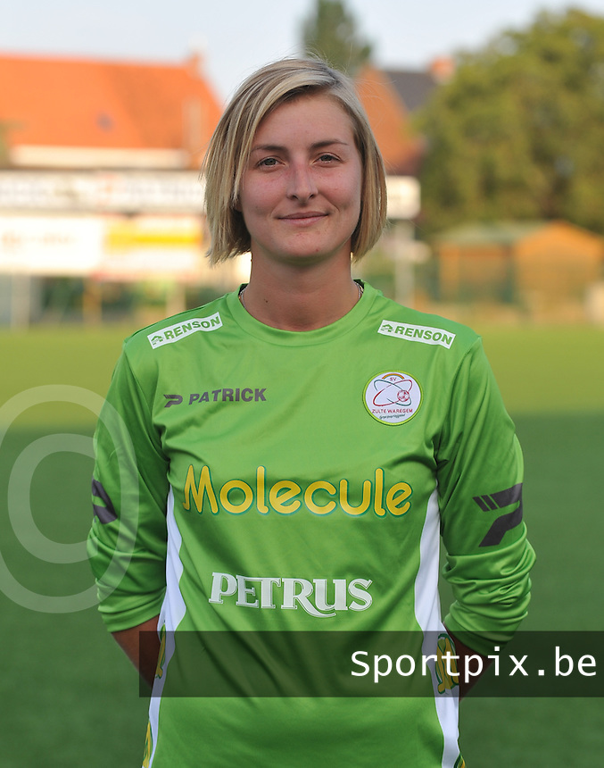 SV Dames Zulte Waregem : Celine Finet.foto DAVID CATRY / Vrouwenteam.be