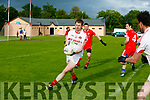 St. Pat's Gary Savage  at the Credit Union Senior Football League Div.2 Round 5 St. Pat's Blennerville V Waterville at the Blennerville GAA Ground on Saturday