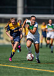 1 September 2019: University of Vermont Catamount Defender/Forward Maggie Matthijs, a Junior from Holmdel, NJ, in action against the Merrimack College Warriors in Game 3 of the TD Bank Women's Soccer Classic at Virtue Field in Burlington, Vermont. The Lady Warriors rallied in the second half to defeat the Catamounts 2-1. Mandatory Credit: Ed Wolfstein Photo *** RAW (NEF) Image File Available ***
