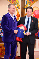 "Hugh Bonneville and Hugh Grant<br /> at the ""Paddington 2"" premiere, NFT South Bank,  London<br /> <br /> <br /> ©Ash Knotek  D3346  05/11/2017"