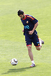 MADRID (25/05/09).- The Spanish Soccer national training session.  RAul Albiol...PHOTO: Cesar Cebolla / ALFAQUI