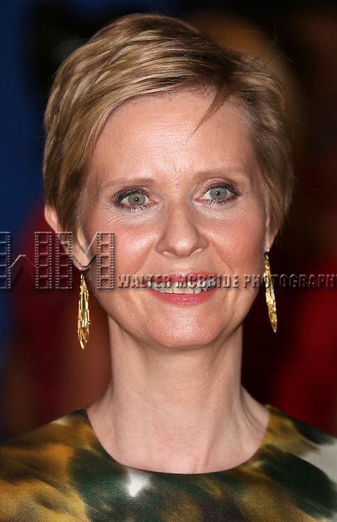 Cynthia Nixon attends the 100th Annual White House Correspondents' Association Dinner at the Washington Hilton on May 3, 2014 in Washington, D.C.