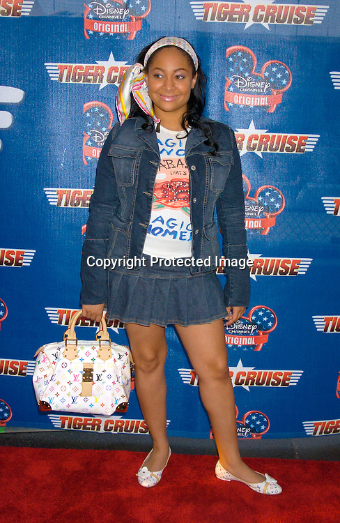"Ravon-Symone ..at the New York Premiere of "" Tiger Cruise"" on August 3, 2004 onboard The Intrepid. The movie is a Disney Channel movie . ..Photo by Robin Platzer, Twin Images"