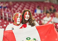 GLENDALE, AZ - June 8, 2016: The 2016 COPA America Centenario Group B match, Ecuador vs Peru at The University of Phoenix Stadium. Final score, Ecuador 2, Peru 2.