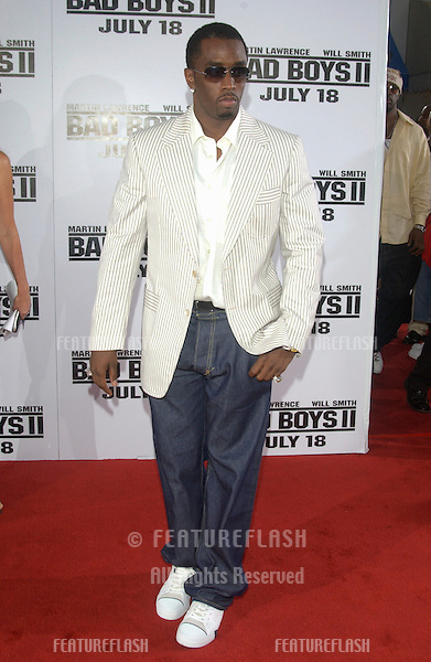 P. DIDDY at the world premiere, in Los Angeles, of Bad Boys II..July 9, 2003.