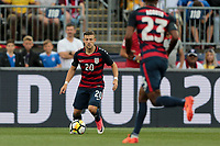 East Hartford, CT - Saturday July 01, 2017:  Paul Arriola during an international friendly game between the men's national teams of the United States (USA) and Ghana (GHA) at Pratt & Whitney Stadium.