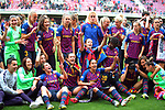 UEFA Women's Champions League 2018/2019.<br /> Semi Finals<br /> FC Barcelona vs FC Bayern Munchen: 1-0.