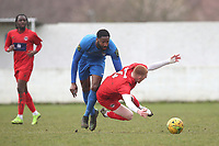 De Dumedi Dumaka of Barking during Barking vs South Park, BetVictor League South Central Division Football at Mayesbrook Park on 7th March 2020