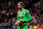 Atletico de Madrid's Jan Oblak during UEFA Champions League match, Round of 16, 1st leg between Atletico de Madrid and Juventus at Wanda Metropolitano Stadium in Madrid, Spain. February 20, 2019. (ALTERPHOTOS/A. Perez Meca)