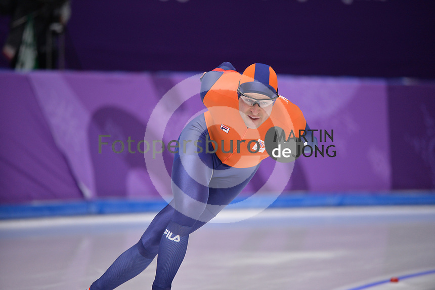 OLYMPIC GAMES: PYEONGCHANG: 15-02-2018, Gangneung Oval, Long Track, 10.000m Men, Sven Kramer (NED), ©photo Martin de Jong