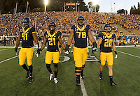 California Football vs. Northwestern, August 31, 2013